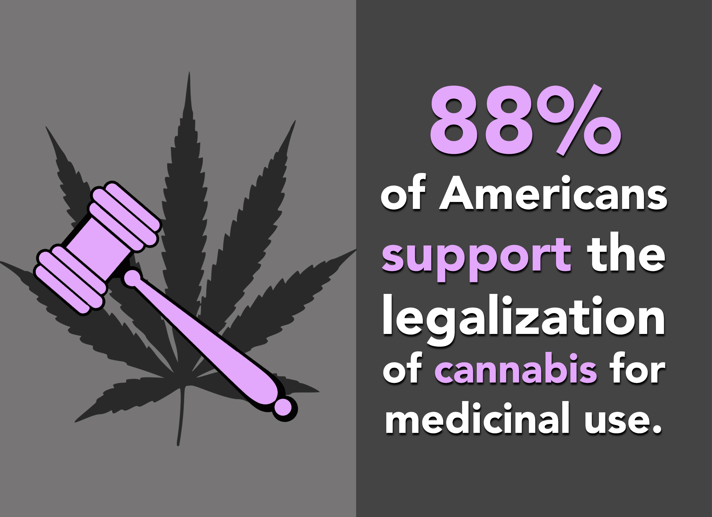 Lawmakers know: few Americans are against legalizing marijuana