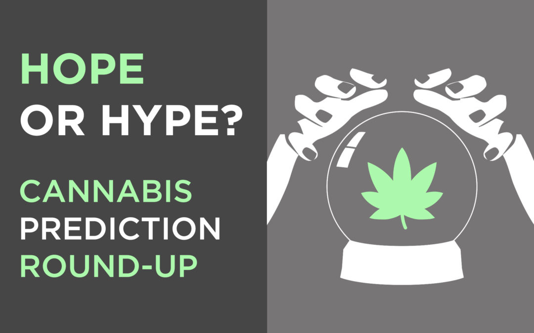 Hope or Hype? 5 Big Cannabis Industry Predictions for 2019